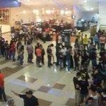 Abarrotado en #CivilWarPremiere de @Cinepolis Saltillo . https://t.co/gMnws22GbM