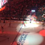Getting ready to start the second period between #caps and #pens #RockTheRed @wusa9 https://t.co/yiiFjVdo41