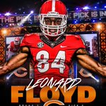 Congrats to @Floyd_XXXking on being the first player drafted in the SEC! Best of luck in Chicago. #DawgsInTheNFL https://t.co/o7BQAghioV