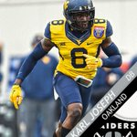 Raiders pick WVU DB Karl Joseph 14th overall. Oaklands Int leader in 2015 was newly-retired Charles Woodson. https://t.co/0OQvzzRfTX