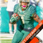 Browns take Baylor WR Corey Coleman 15th overall. Coleman won Biletnikoff Award as best WR in CFB last year. https://t.co/8EKE6muAIF