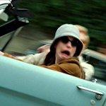 Stress level: princess Mia driving the stang https://t.co/VKNiB0vEG7