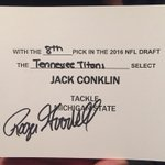 The official card. #TitansDraft https://t.co/wFjFjt7quH