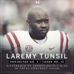 Laremy Tunsil's Draft Day fall potentially lost him up to $13M https://t.co/z0mKO1vVh6