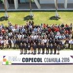 Foto oficial de la @COPECOL_2016 en la @UAdeC Campus Arteaga @rubenmoreiravdz @osoriochong @SEGOB_mx @caroviggiano https://t.co/T7f0uVlXgO