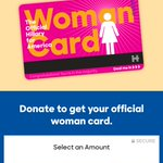 """Clever fundraising gimmick from the Clinton campaign: give money, get a """"woman card"""" https://t.co/O5X3hijkTb https://t.co/icOV3Ph6uX"""