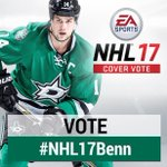 """VOTE by """"RTing"""" for our homie @JamieBenn14 to be on the cover of NHL 17!!! #NHL17Benn https://t.co/lWl9mgA8DA"""