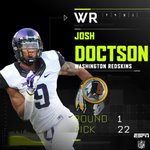 With the 22nd pick in the 2016 NFL Draft, the Washington Redskins select Josh Doctson. #WSHpick https://t.co/CWNhwrem7J