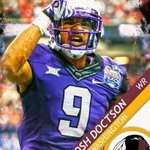 Washington gets another WR to put alongside DeSean Jackson by selecting Josh Doctson 22nd overall. https://t.co/YOObg7cX6j