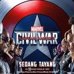 CAPTAIN AMERICA: CIVIL WAR sedang tayang di bioskop. Experience it in @IMAX dan Dolby Atmos. #CivilWarID https://t.co/wSUf7cHewZ