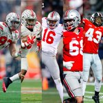 Bosa at #3. Zeke at #4. Apple at #10. Decker #16. Lee at #20.  Its a Buckeye Party. https://t.co/oZY8AnLXWM