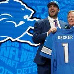 Watch the #Lions first-round pick announced by @nflcommish in Chicago: https://t.co/Hzay4jdRdX https://t.co/lIfu7pEaH4