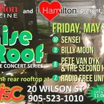 "Were proud to be co-presenters of the @DrDiscHamilton ""Raise The Roof"" concert series - see you on May 13 #HamOnt https://t.co/MXk5te0M0j"