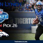Congratulations to Paxton Lynch who is headed to the @Broncos #NFLDraft https://t.co/VcU7hzImf9
