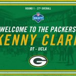 With the 27th pick in the 2016 NFL Draft, the #Packers select UCLA DT Kenny Clark! #PackersDraft https://t.co/83upVfQS8Z