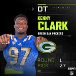 With the 27th pick in the 2016 NFL Draft, the Green Bay Packers select Kenny Clark. #GBpick https://t.co/LngGCHSbSM
