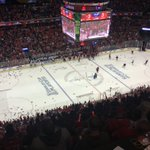 HATS ON THE ICE FOR ????????????TJ OSHIE!!!!!!???????????? OT GAME WINNER! #CapsPens #RockTheRed https://t.co/ApmRi2qkxz