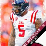 Arizona selects Ole Miss DT Robert Nkemdiche with 29th pick. Nkemdiche was the No. 1 overall recruit in 2013. https://t.co/YmN8JWaAeT