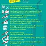 Cek nih yang boleh dan tidak boleh dilakukan di Car Free Day Bogor - Jalan Sudirman #WeLoveBogor https://t.co/0YbOecOuE9