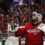 .@Holts170 earned his 21st career playoff win and passed Olie Kolzig (20) for most by a goalie in @washcaps history. https://t.co/ZrJ9ucvf6D