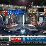 """""""One of the best duos on paper right now, Alfred Morris and Ezekiel Elliot."""" - @Nate13Burleson on @dallascowboys https://t.co/RjIz34wVJr"""