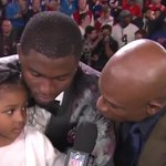 VIDEO: Laquon Treadwells daughter gives adorable interview after he gets drafted https://t.co/LIpYmtTSJv https://t.co/WpPTzkDvJX