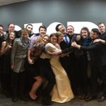 BIG HUGS! <3 We love our team! #FormalFriday https://t.co/kQA6WaO06s