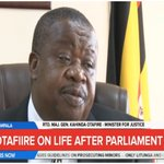 Otafiire says he will not miss having to buy coffins & paying school fees now that he is no longer MP. #NBSNow https://t.co/7rfQxwqB4T