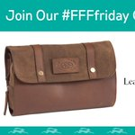 Its here - our final #FFFfriday! Be sure to follow & RT to #WIN an exclusive FFF Leather & Canvas Washbag! https://t.co/PKNjg6R35l