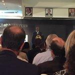 Pres @KagutaMuseveni speaks at #GiantsClub Says problems are criminality, Ivory market & corruption! @ntvkenya https://t.co/QFgWSlpDFz