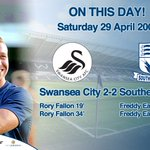 ON THIS DAY | 10 years ago today Blues won promotion at @SwansOfficial thanks to a Freddy Eastwood double! #Southend https://t.co/qMSpnJjHM6
