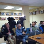 Amplia cobertura mediatica para asistir al momento de la confirmación de @agaribay77 q sigue en Valladolid https://t.co/QTtw1JrNtV