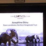 Josephine Ekiru: Elephants are our common cows. We all milk them #Kenya https://t.co/nRPNiYKkSp