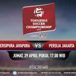 Saksikan #LiveStreaming #TSC2016ID @PERSIPURA_ vs @Persija_Jkt di link berikut https://t.co/HsQ3bSBjjb https://t.co/O51L4WAywI