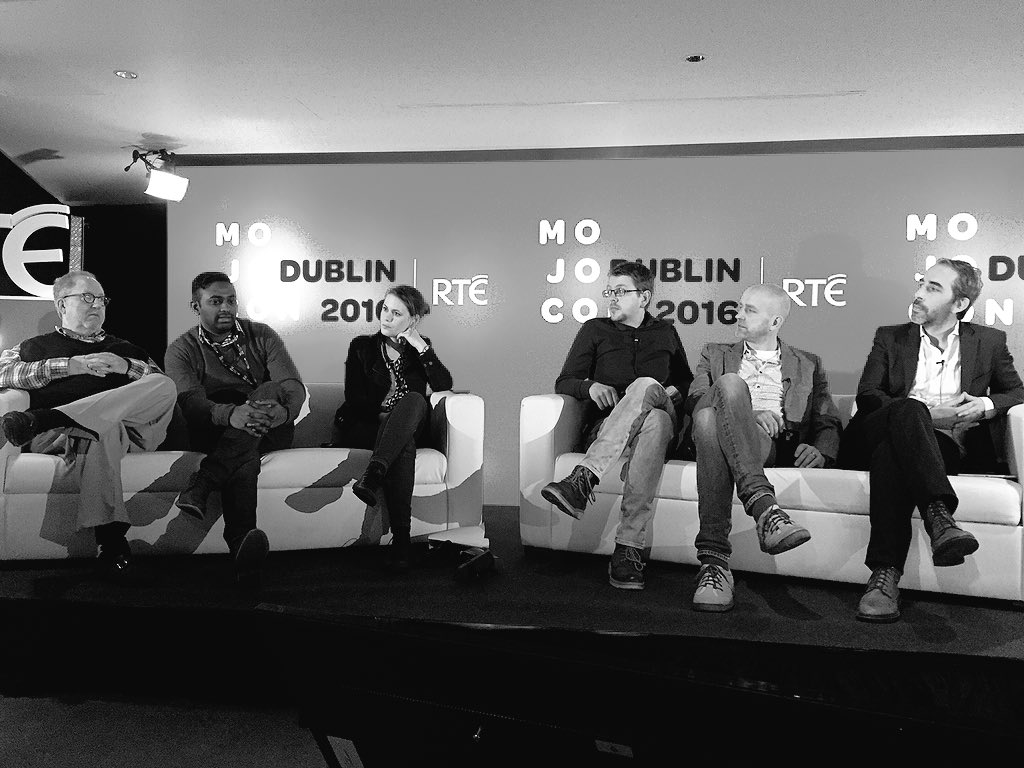 """Eventually everyone will become a mobile journalist, it will enhance capabilities and skill sets"" @ViasenS #mojocon https://t.co/vX1LIkjpIr"