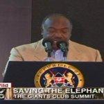 President Ali Bongo: Poaching has turned elephants into refugees #GiantsClub https://t.co/CctJtxvWhG