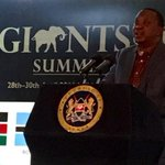 President @UKenyatta: We will not be the Africans who stood by as we lost our elephant population #GiantsClub https://t.co/dDuV5BVVNH