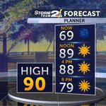 A taste of summer today with a high of 90. Im going to go ahead and say, TOO SOON! #chswx https://t.co/aey4tfbJAf