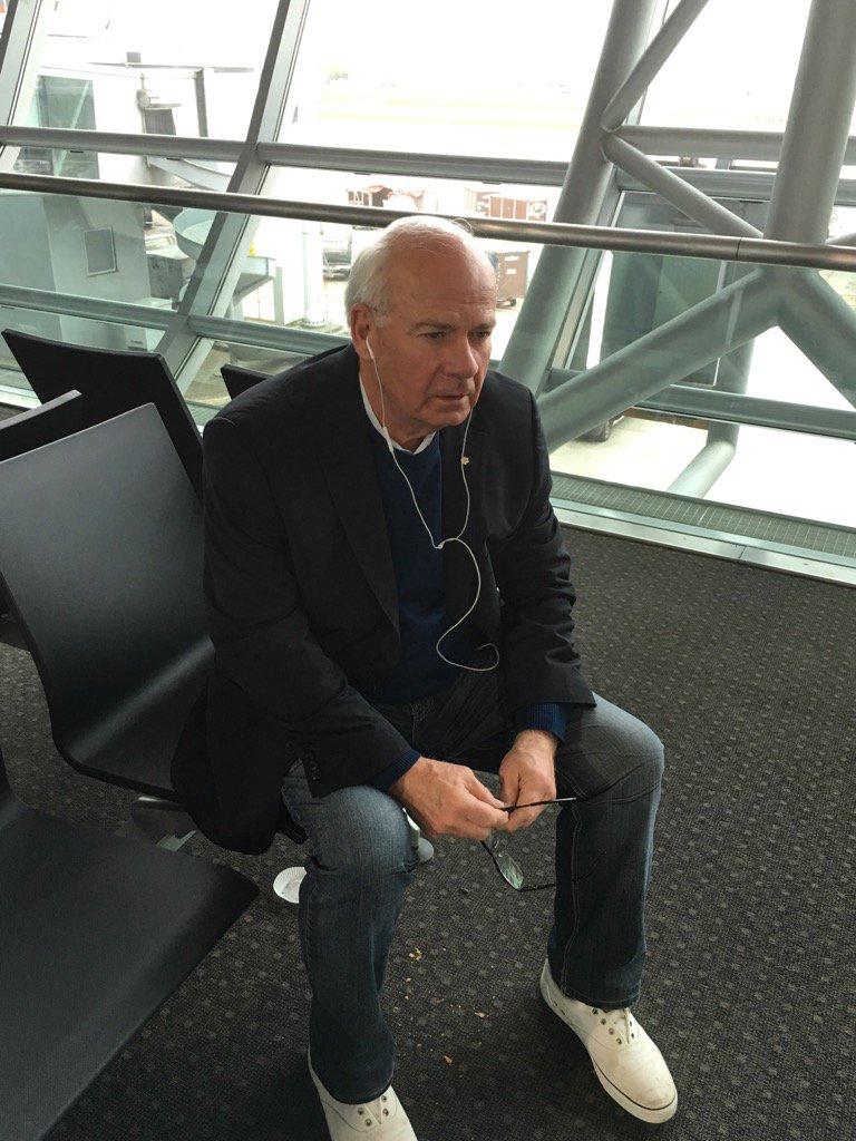"Listening to ""Views"" in Brussels. https://t.co/YDJa5TNeS0"