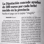 📰  @FaroOurense La @DeputacionOU concederá ayudas de 300€ a los bebés nacidos en Ourense   🔗 https://t.co/bYUNbgNrB1 https://t.co/JNfk3ZCK7m