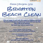 If you cant help clean the beach-please just litter-pick wherever you are in #Brighton #Hove! https://t.co/qzaf6GcGZP