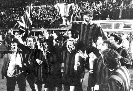 46 years ago today #MCFC won the European Cup Winners Cup in Vienna Stadium beating Gornik Zabrze 2-1. #NoHistory https://t.co/BoB1NrEcQK