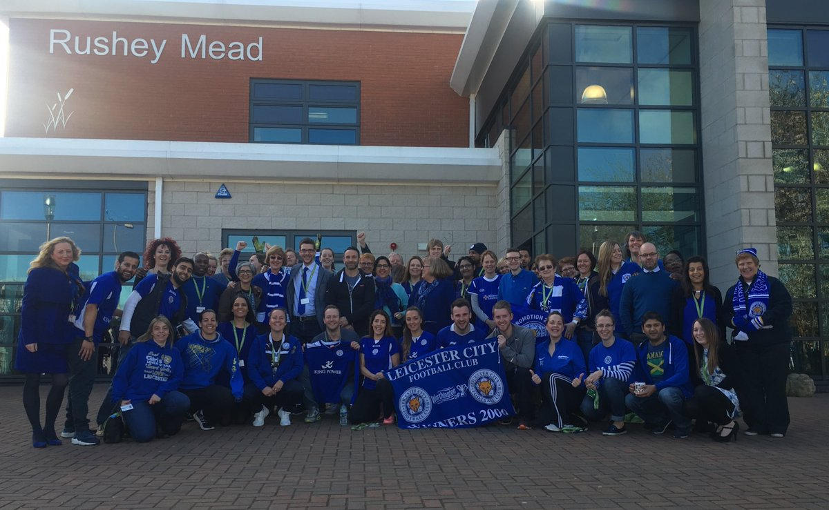 #backingtheblues RUSHEY MEAD !! @Leicester_Merc @BBCLeicester https://t.co/2cdXT2P9Sq