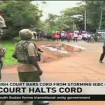 High court bars CORD from storming IEBC offices #NTVNewsUpdate @MarkMasai https://t.co/xbMnYOO6Po
