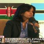 Shamini: NGO community play a very important role here in Kenya in combating poaching @SmritiVidyarthi #GiantsSummit https://t.co/K6xaRHcnRw