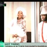 Hot Topic: Teebillz & Tiwa Savages Marriage Scandal #YourViewTVC https://t.co/8BuXl0QQ1k