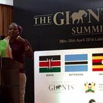 Powerful calls from communities for support for local conservancies for #wildlife at #GiantsClub Summit. @UNDPKenya https://t.co/GMYVtVhlzF