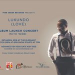 Are you ready for tonight?? #Lukundo Album Launch Happening Tonight Gates open at 6 at The Elephant. See You There. https://t.co/e66XpHSruO