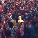 Miriam to voters: Choose candidates with moral integrity. #Halalan2016 | via @rongagalac https://t.co/X0uw78gkov