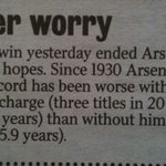 @piersmorgan: REMINDER! We are worse off with Wenger. Facts dont lie. https://t.co/8JWYKBG7IH